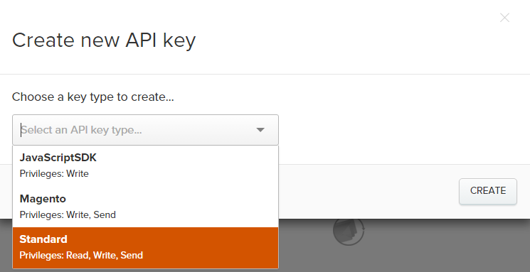 Iterable Create API Keys