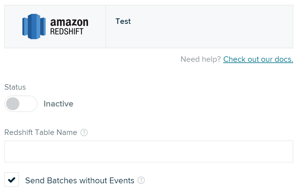 Amazon Redshift | Data Warehouse